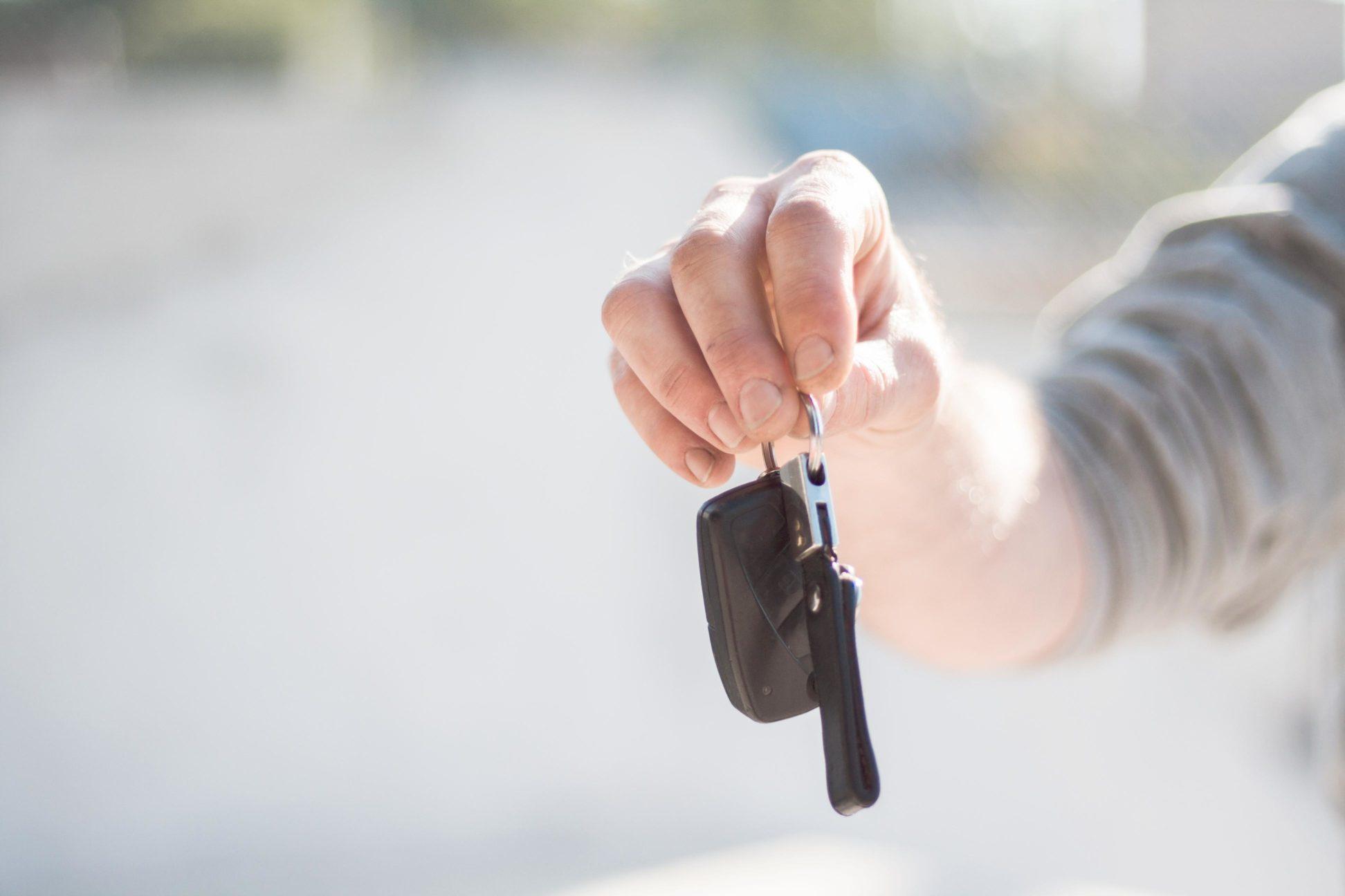 Авто ключ с чипом